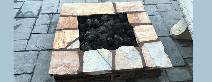 Backyard Fire Pit Facelift Thousand Oaks Ca Michael s