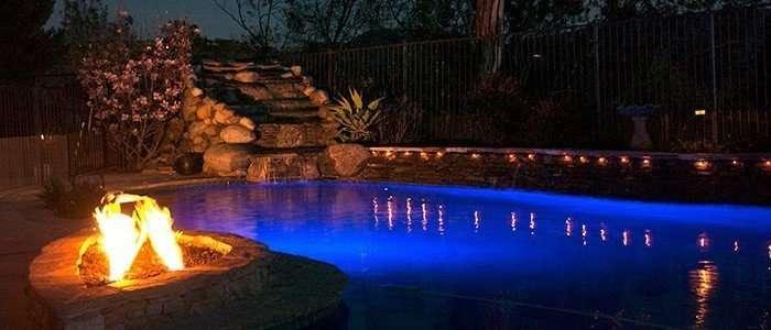 LED Lights Night Pool